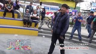 Discomania en Villa María del Triunfo   Caravana Ken Laszlo 2015