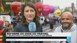 France : Macron face à la CGT