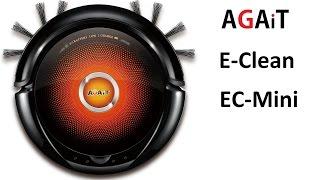 Робот пылесос AGAiT E-Clean EC-mini  Обзор
