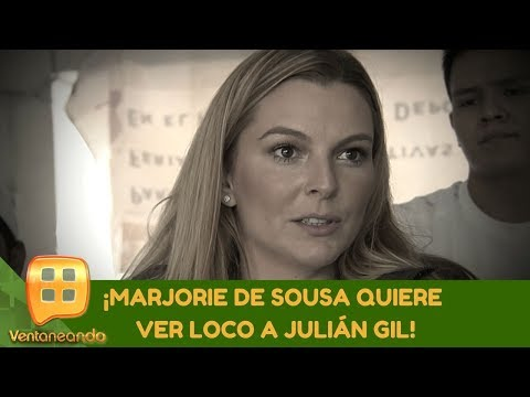 ¡Marjorie de Sousa quiere ver loco a Julián Gil! |Programa del 04 de diciembre de 2019|Ventaneando