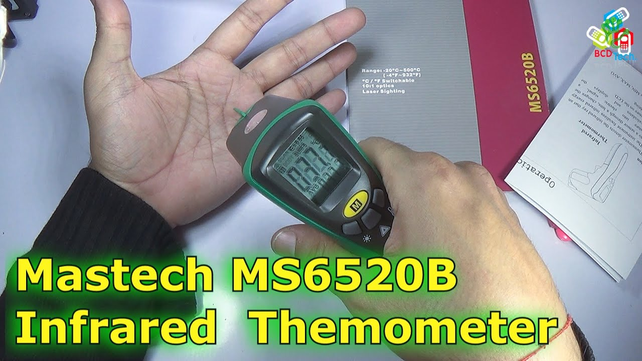 Mastech Infrared Thermometer Ms6520b By Bcd Technology Extech Ct70 Ac Circuit Load Tester