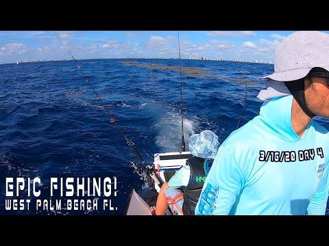 EPIC FISHING DAY 4! WEST PALM BEACH FL. 3/16/20
