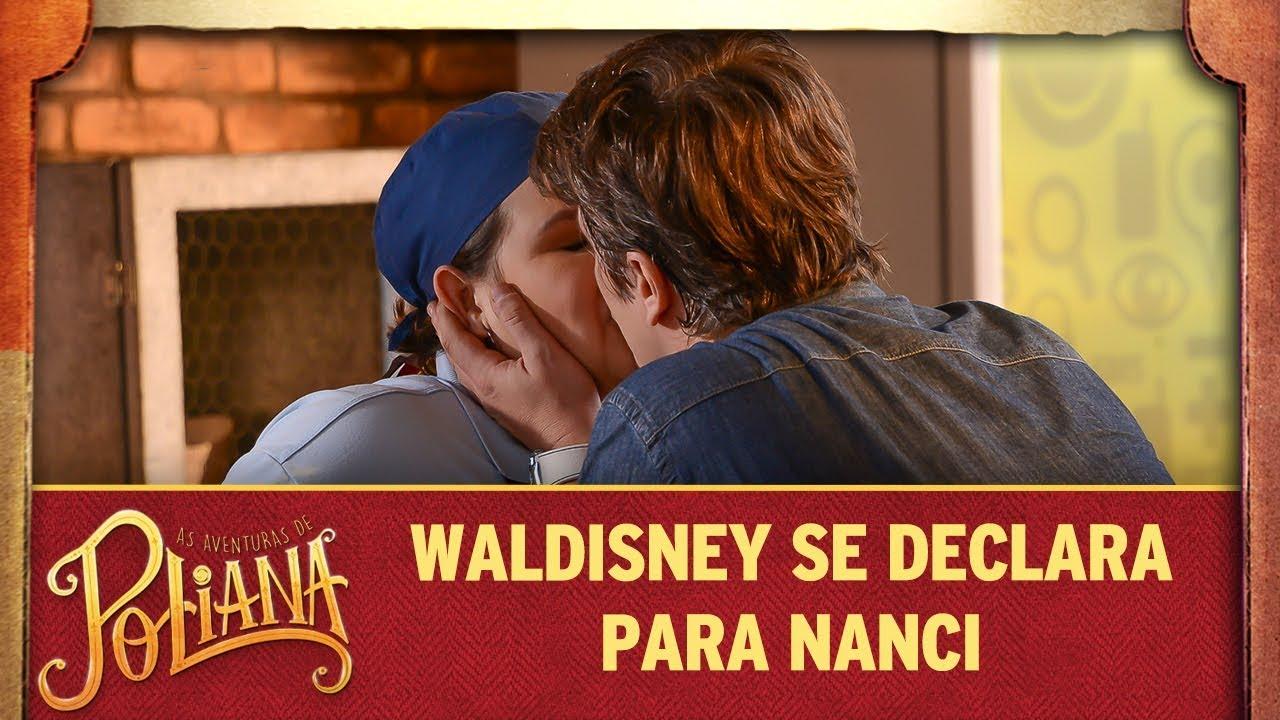 Waldisney faz declaração de amor para Nanci | As Aventuras de Poliana