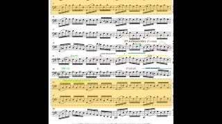 J.S. Bach. Suite nº 1 en Sol mayor para cello solo. Preludio. Análisis temático y estructural.