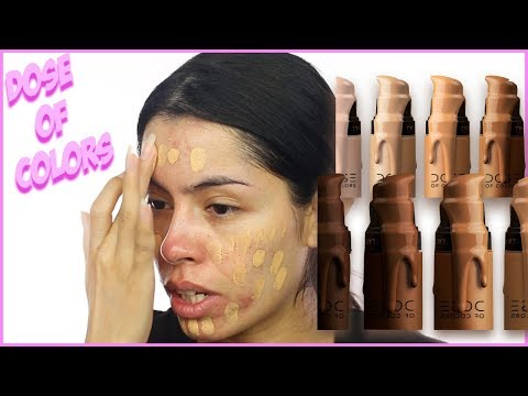DOSE OF COLORS MEET YOUR HUE...ON ACNE PRONE SKIN? | Rocio ceja thumbnail