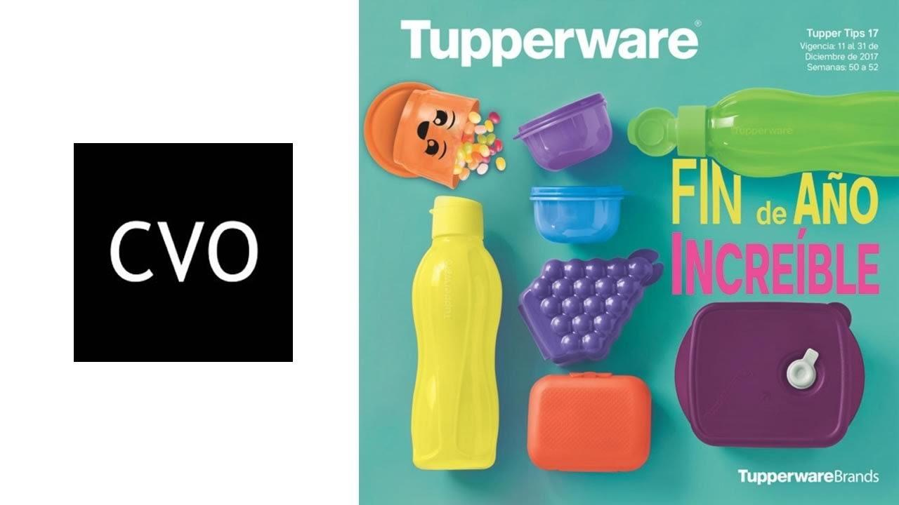Catálogo Tupperware Tupper Tips 17 - Vigente del 11 al 31 de Diciembre 2017.  Catálogos Virtuales Online fc951949d18