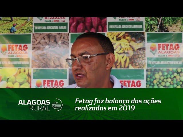 Fetag faz balanço das ações realizadas em 2019