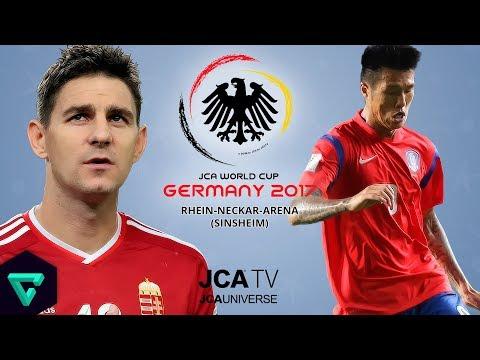 Hungary vs. South Korea   Group D   2017 JCA World Cup Germany   PES 2017