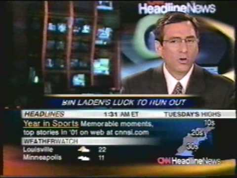 Headline News - on New Years Eve, 2002!!