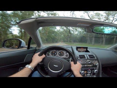2014 Aston Martin V8 Vantage  - POV Drive Review