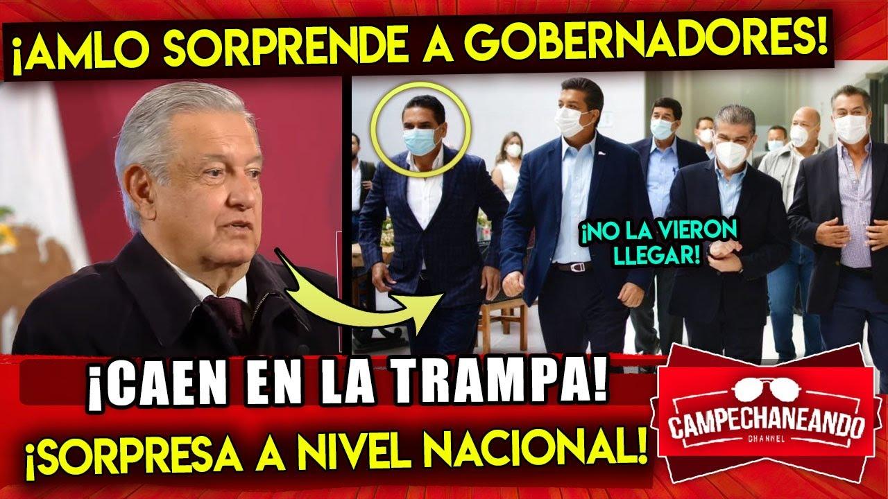 AMLO LE PONE TRAMPA A GOBERNADORES! QUEDARON SORPRENDIDOS! LOS EXPONE A NIVEL NACIONAL ¡SE ACABÓ!
