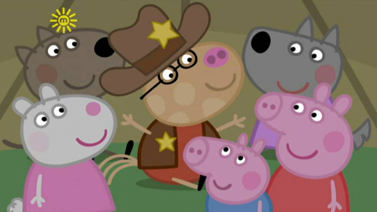 Peppa Pig - Pedro the Cowboy (11 episode / 4 season) [HD]