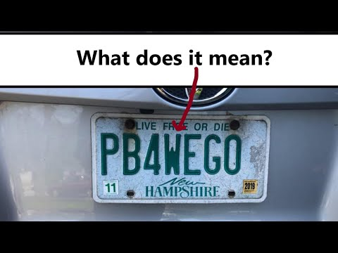The Latest From Rock - Pee Before We Go License Plate Recalled By DMV