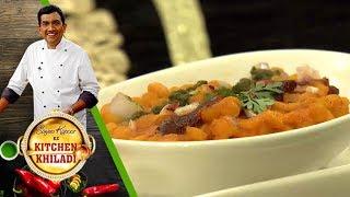 Sanjeev Kapoor Ke Kitchen Khiladi - Ep 18 - Stuffed Sabudana Vada  Lauki Kheer With Rasmalai