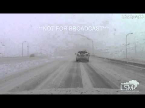 3-23-16 Colorado Springs, Colorado Morning Snow Storm