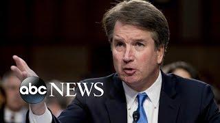 Kavanaugh, accuser called to testify at public hearing thumbnail