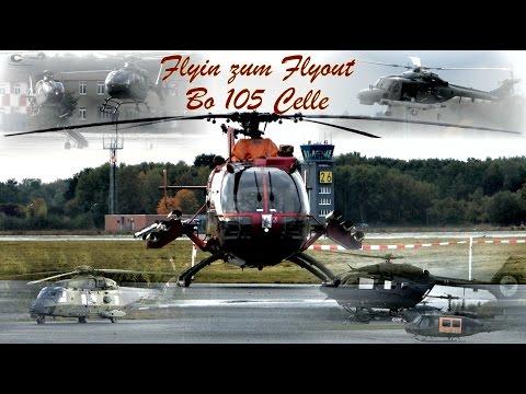 Flyin zum Flyout Bo 105 Celle  19.10.16 *Full FlyIn*