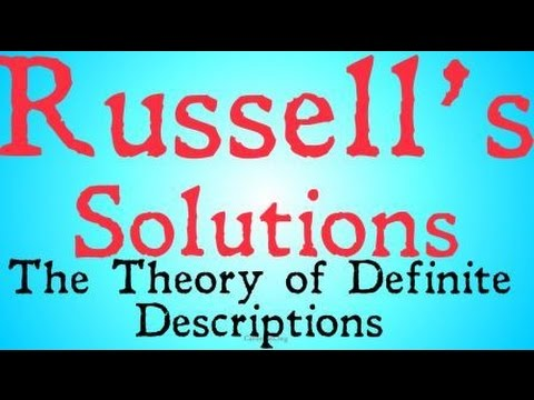 Russell's Theory of Definite Descriptions (Philosophy of Language)