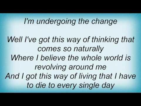 Steven Curtis Chapman - The Change Lyrics