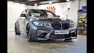 2017 BMW M2 Fully Wrapped in Xpel Ultimate PPF + Coatings on Every Surface!