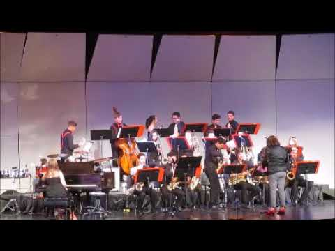 Etiwanda High School Jazz Band I 2018 Upland Western States Festival Performance