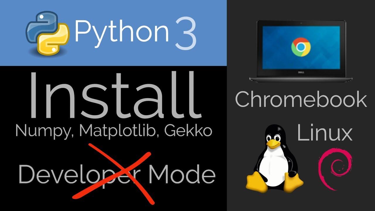Install Python 🐍 on Chromebook