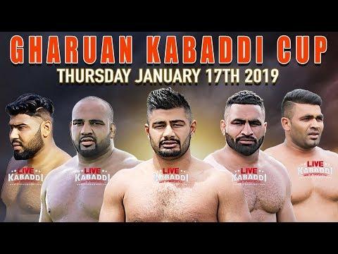 🔴LIVE Gharuan (Mohali) Kabaddi Cup 2019 | LIVE KABADDI