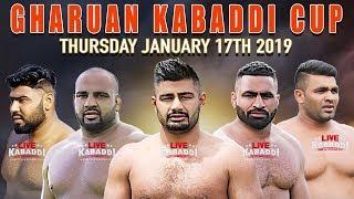🔴LIVE Gharuan (Mohali) Kabaddi Cup 2019   LIVE KABADDI