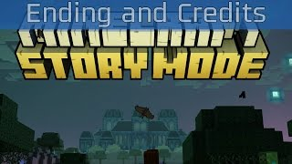 Minecraft: Story Mode - Episode 6: A Portal to Mystery Ending and Credits [HD 1080P/60FPS]