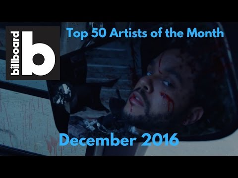 Billboard's Top 50 Artists of December 2016