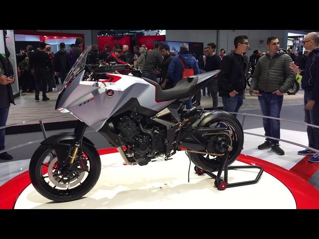 Eicma 2019, Honda'nın kullanıcı motorları ve Konsept CB4
