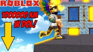RUN AWAY BECAUSE YOU FALL 999.999.999 KM down!   -ROBLOX #494