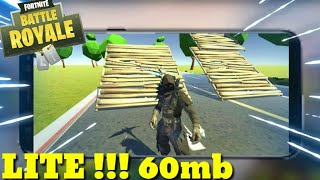 🚩 IZQUIERDA APK LITE 60MB DE FORTNITE PARA MOBILE ES WEAK PC (DESCARGAR) COPY!!!