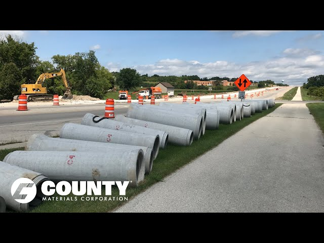 County Materials Mammoth Pipe Infrastructure Project on Track