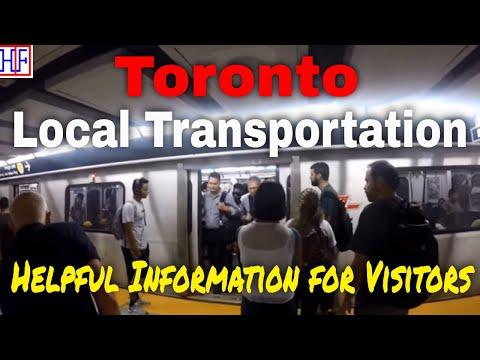 Toronto | Local Transportation Guide for Visitors - Getting Around | Travel Guide | Episode# 2
