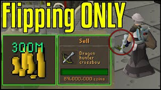 Flipping ONLY items I see players wearing at the Grand Exchange! - OSRS Flipping Challenge