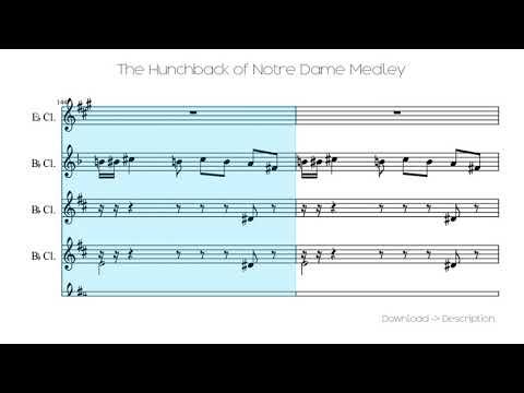 🎶 The Hunchback Of Notre Dame Medley 🎸🎸