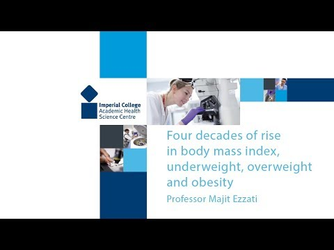 Four decades of rise in body mass index, underweight, overweight and obesity
