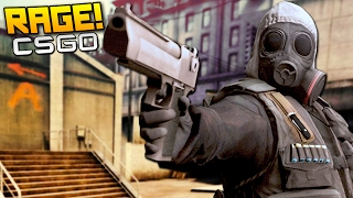 CS:GO Funny Moments - EPIC CLUTCHES & RAGES!