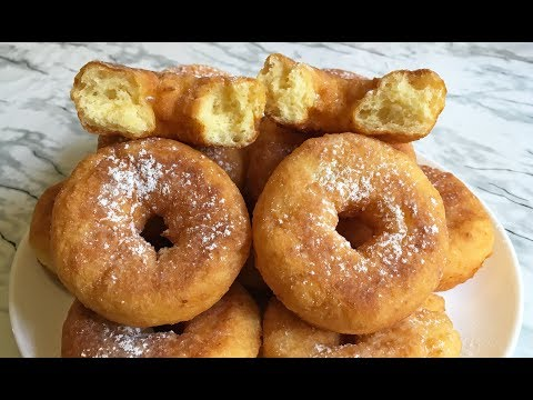 Творожные Пончики Простой и Вкусный Рецепт / Пончики из Творога / Cheese Donuts