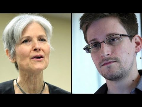 Jill Stein Wants To Give Edward Snowden A Job