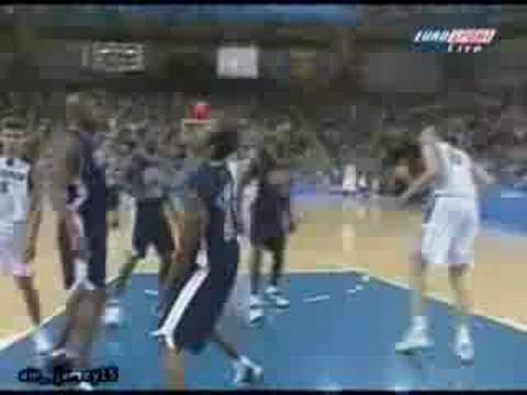 Vince Carter Slam Dunk! 2000 Sydney Olympics