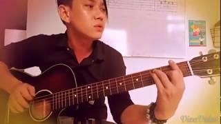 """""""Nụ Hôn Biệt Ly"""" Guitar cover"""