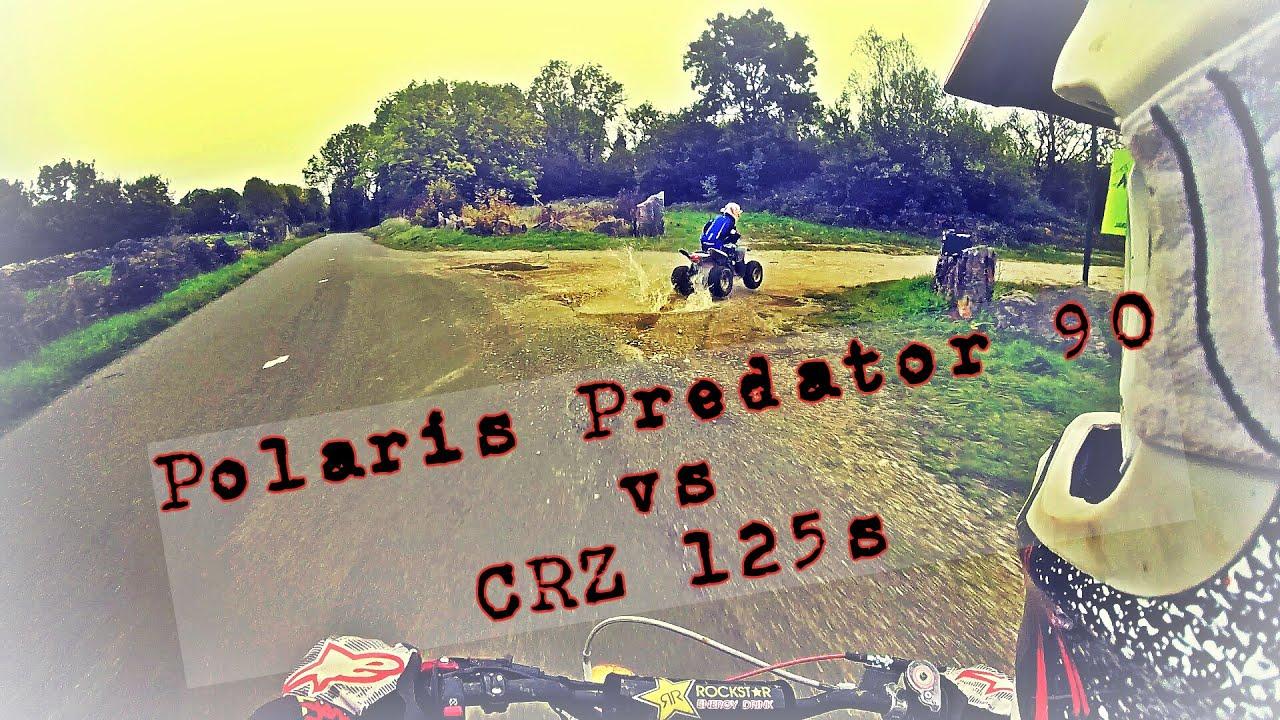 Polaris Predator 90 Vs Crz 125s