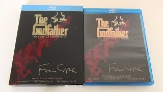 The Godfather Collection Blu-Ray Unboxing
