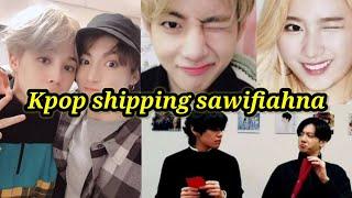 Kpop shipping (jikook, taekook, taesana, jenlisa, etc.) sawifiahna.....{Mizo}