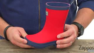 Hatley Kids Red and Navy Rain Boots (Toddler/Little Kid) SKU: 8988041