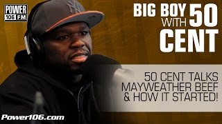 50 Cent Gives Details About The Beef Between Him and Mayweather!
