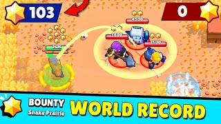 *NEW* WORLD RECORD (103 STARS) in Brawl Stars! Wins & Fails #98