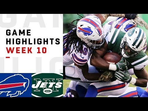 Bills vs Jets Week 10 Highlights  NFL 2018